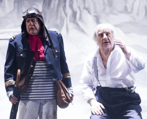 Michel Aumont et Denis d'Archangelo photo Christopher Vootz