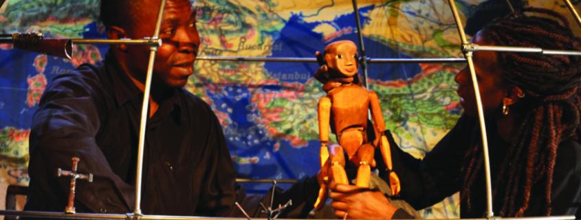 à l'occasion de la Quinzaine de la Solidarité internationale de Fontenay-sous-Bois, le Théâtre Roublot se pare aux couleurs du Congo