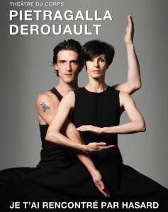 Marie-Claude Pietragalla et Julien Derouault dans Je t'ai rencontré par hasard