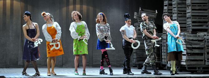 Mesdames de la Halle de Jacques Offenbach par Jean Lacornerie