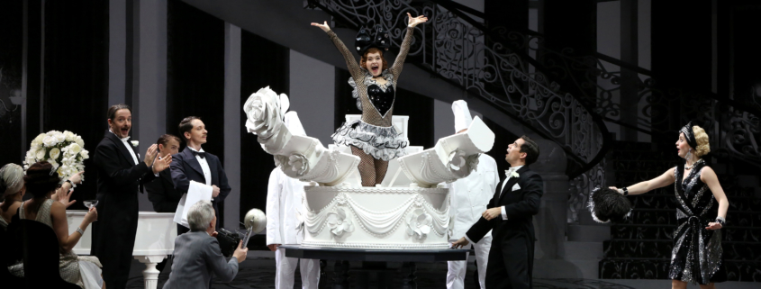 Kathy Selden dans Singin'in in the rain Photo Patrick Berger