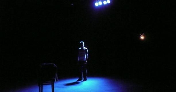La Solitude d'un acteur de peep-show © Joanna Van Mulder