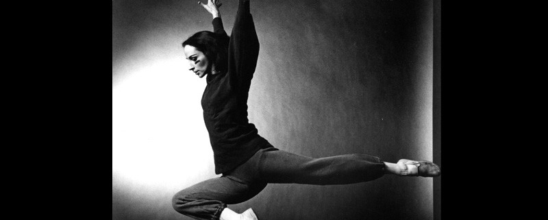 © Carolyn Brown, Winterbranch (1964). Photo by Jack Mitchell. Avec l'aimable autorisation du Merce Cunningham Trust