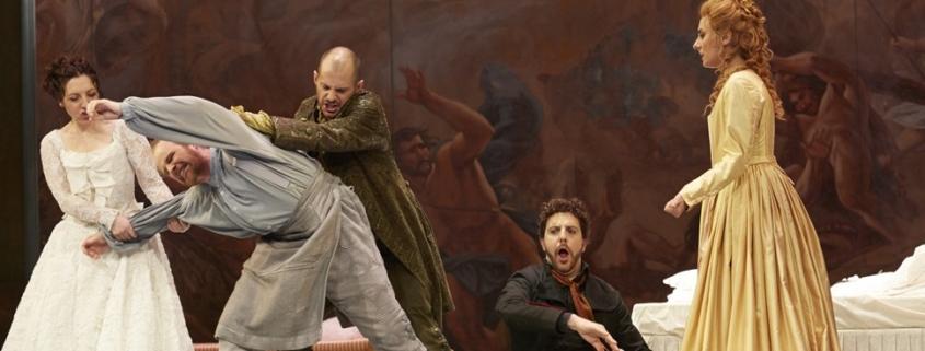 Les noces de Figaro de Mozart dans la mise en scène de Marco Arturo Marelli