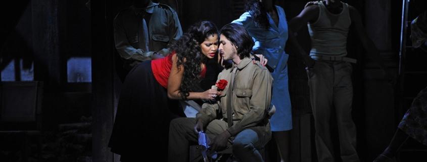 Luna Manzanares (Carmen) et Joel Prieto (José)  @ Théâtre du Châtelet - Marie-Noëlle Robert