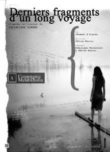 Dernier fragments d'un long voyage d'après le journal de Christiane Singer