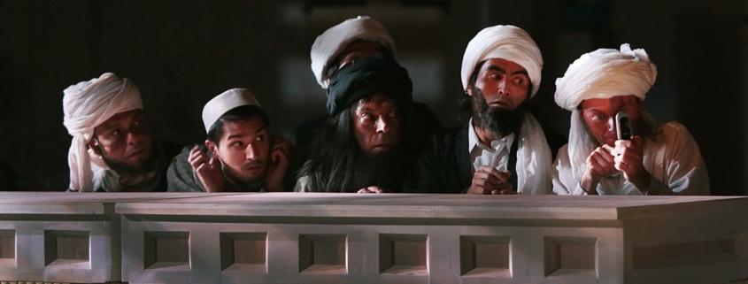 Vijayan Panikkaveettil, Shafiq Kohi, Samir Abdul Jabbar Saed, Ghulam Reza Rajabi, Duccio Bellugi-Vannuccini © Michèle Laurent