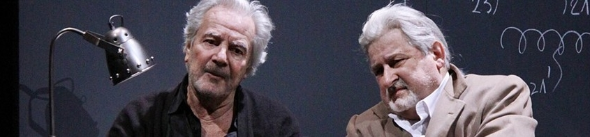 Pierre Arditi et Didier Bezace