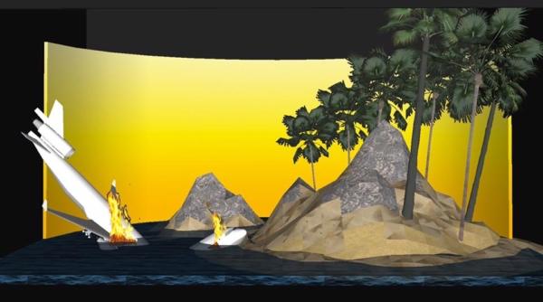 Philippe Quesne prépare un crash d'avion sur une île déserte !