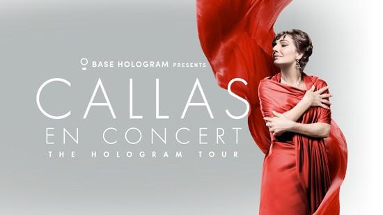 La Callas de retour sur scène grâce à la technologie de l'hologramme !