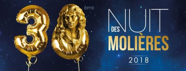 Molières 2018 : la liste des nominations !